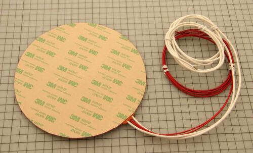 Dia 170mm 200W@12V Round Circular Silicon Heater Kossel Delta 3D Printer HeatBed