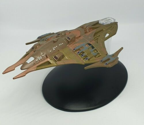 Eaglemoss Star Trek The Official Starship Collection Lokirrim Warship Issue 113