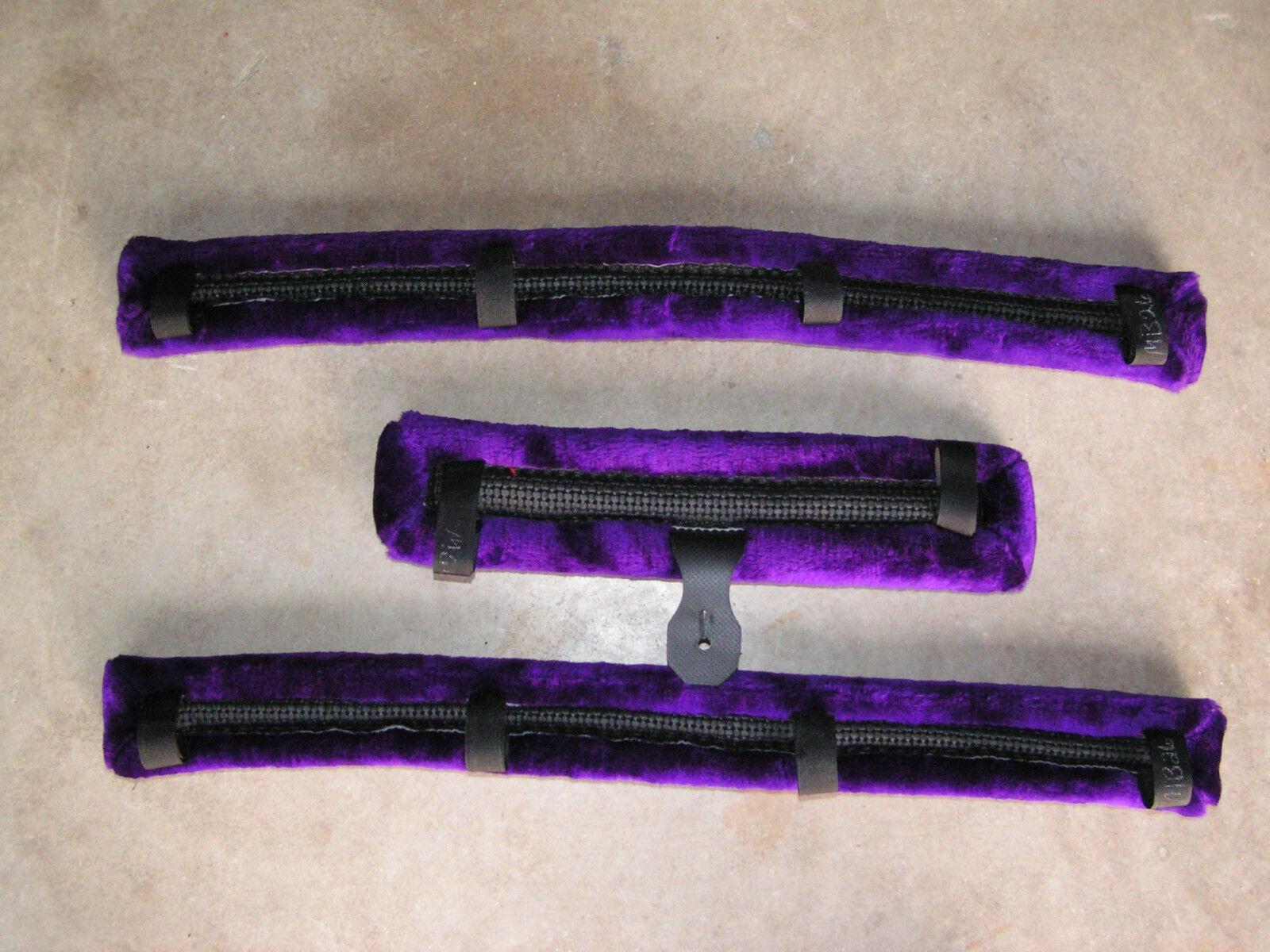 Miniatura Caballo, Equine, mini burro, Mini Pony, Caballo, Miniatura Cobb púrpura conducción arnés almohadillas 052720