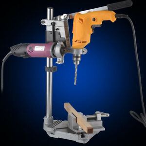 Bench-Electric-Drill-Stand-Press-Power-Tool-Clamp-Base-Frame-Holder-Bracket-NEW