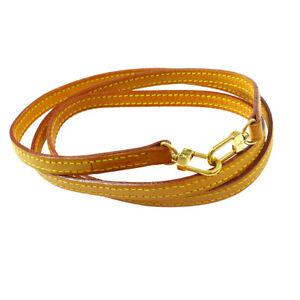 LOUIS-VUITTON-Logos-Shoulder-Strap-Brown-Leather-Handbag-Accessories-AK44981