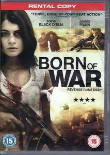 Born of War: Revenge Runs Deep (DVD, 2013) NEW SEALED PAL R2 Rental Copy