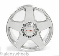 """Gmc Sierra Hd 2500 3500 8 Lug 8x6.5 20"""" Polished Wheels Rims Yukon Xl 2500 5503"""