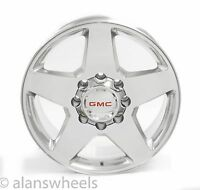 "Gmc Sierra Hd 2500 3500 8 Lug 8x6.5 20"" Polished Wheels Rims Yukon Xl 2500 5503"