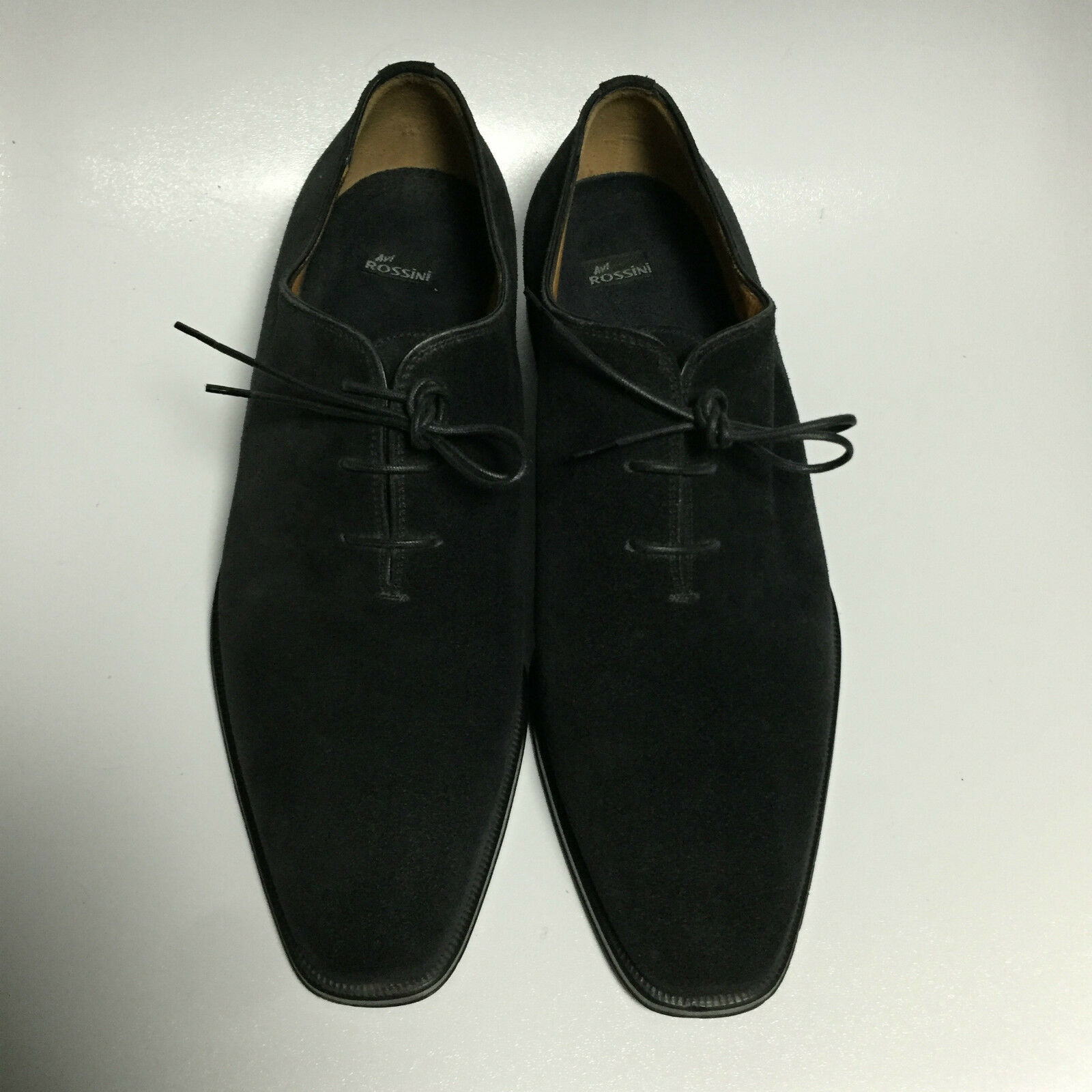 Avi Rossini Navy Suede Wholecut Wholecut Suede Oxford UK9 8bbf49