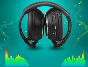 Car-Infrared-Wireless-IR-Headphone-Stereo-Audio-2-channel-Cordless-Headset-2008