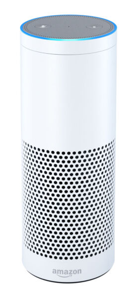 amazon echo 1st generation smart assistant white. Black Bedroom Furniture Sets. Home Design Ideas
