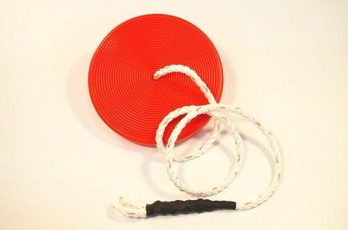 NEW ZLP Manufacturing ZLPDISK ZLPDISK ZLPDISK Zip Line Red Disk Seat w  Rope 903301