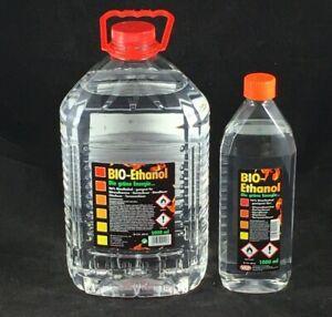 (8,29-3,67€/L) 1 - 15 Liter Bioethanol 96% Bio Alkohol Kamin Ethanol BIO-Ethanol