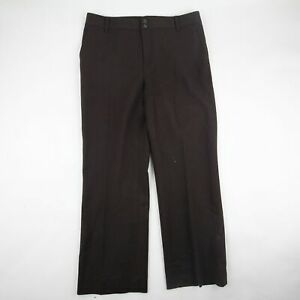 Lauren Ralph Lauren Womens Dress Pants Black Casual Career Wool Blend Size 10P