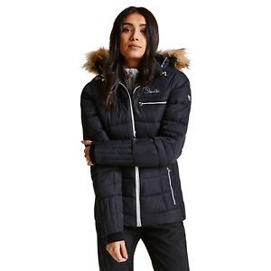Dare2b Womens Cultivated BLACK Ski Jacket Ladies NEW SIZES 10 - 20 ... 1a297b8794