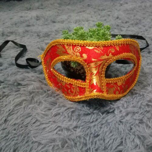 Mens Party Prom Womens Mask Venetian Style Velvet Masquerade