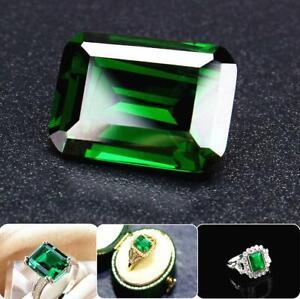 20ct-Natural-Mined-Green-Loose-Gemstone-Emerald-Colombia-Zircon-Emerald-AAAAAA