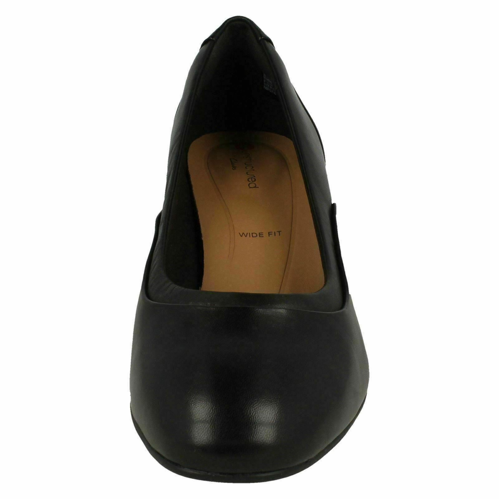 Zapatos De Cuero Damas Clarks Unstructurojo 'un 'un 'un Cosmo paso  Tribunal-E Montaje d813ad