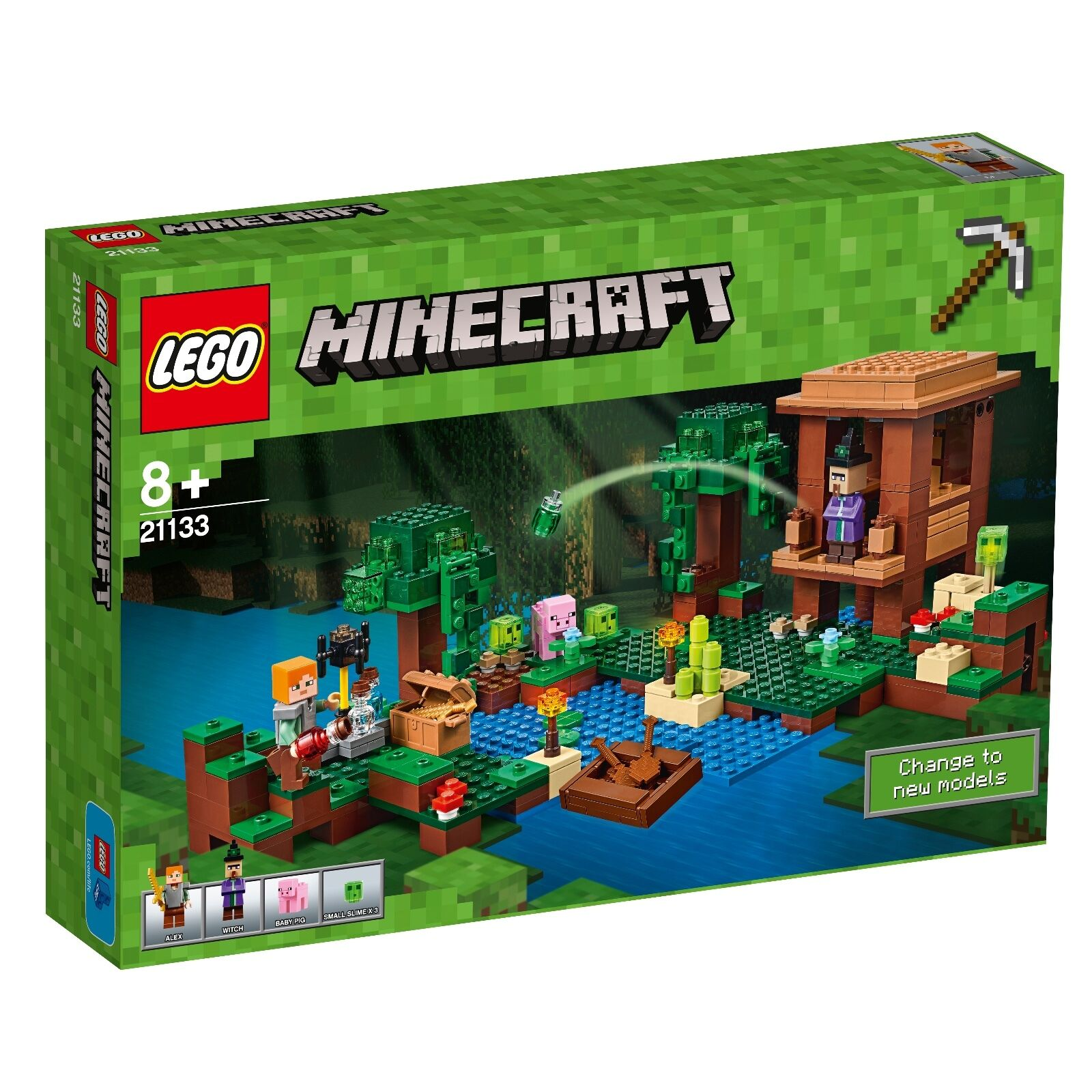 LEGO ® Minecraft ™ 21133 la fée Neuf neuf dans sa boîte _ The Witch Chapeau NEW En parfait état, dans sa boîte scellée Boîte d'origine jamais ouverte
