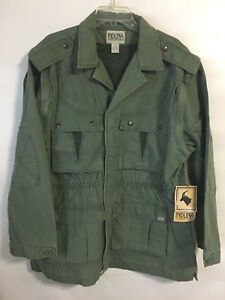 Induna Africa Convertible Safari Jacket Vest Mens Nwt Size Large
