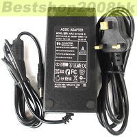 1pcs 12V 5A Power Adapter 12 Volt 5 Amp TFT LCD Monitor Supply LCD Adaptor UK