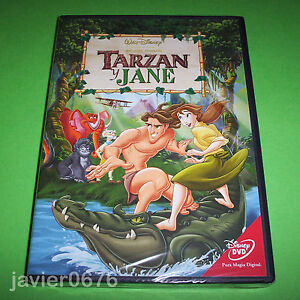 TARZAN-Y-JANE-DISNEY-DVD-NUEVO-Y-PRECINTADO