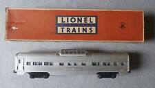 Lionel O Scale No. 2532 Illuminated Astra-Dome Car In Original Box ~ TSK