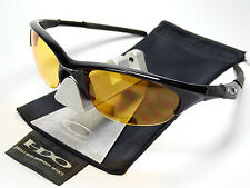 OAKLEY HALF JACKET BLACK SONNENBRILLE X FLAK SPLIT EYE FAST STRAIGHT QUARTER TEN