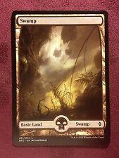Battle for Zendikar Full Art Land  Swamp #261  VO  -  MTG Magic (Mint/NM)