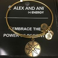 Alex And Ani star Of Venus Bracelet In Russian Gold 100% Authentic