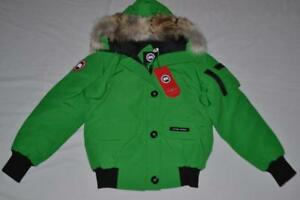 CANADA-GOOSE-LADIES-CHILLIWACK-BOMBER-JADE-GREEN-XL-AUTHENTIC-BRAND-NEW-7950L