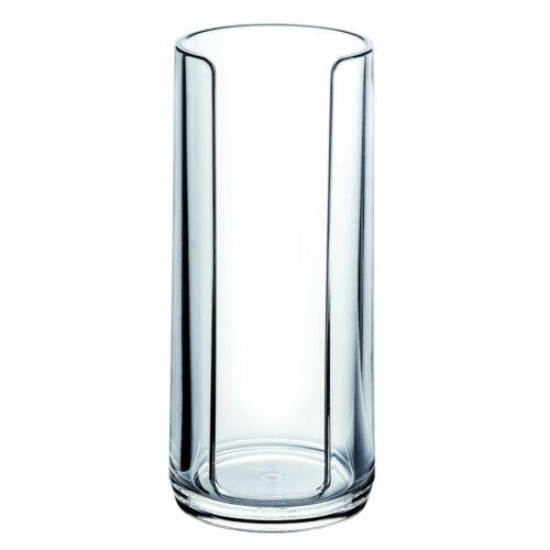 Serene Clear Acrylic 5pc Modern Bathroom Accessory Set