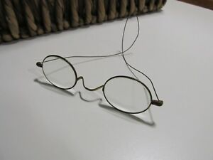 208a887a3845 Image is loading S-F-A-Antique-Victorian-Metal-Wire-Rim-Eye-Reading-