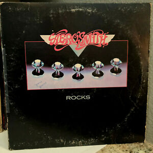 AEROSMITH-Rocks-12-034-Vinyl-Record-LP-VG