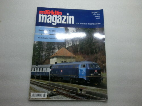 Märklin Magazin für Modell-Eisenbahner 01//99 bis 06//2001 zur Auswahl