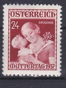 1937 Muttertagsmarke Postfrisch ** MNH ANK 638