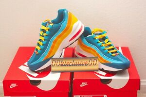 Empírico apretado Calma  NIKE AIR MAX 95 (GS) Size 4 GREEN ABYSS / FLASH CRIMSON NEW CJ9989300 | eBay