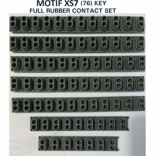 Yamaha Motif XS7 76 Key rubber contact Full Set key sensing UK Stock