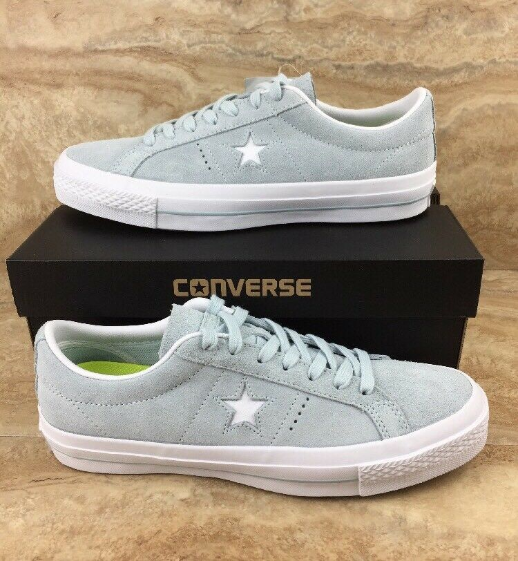 Converse One Star Suede OX shoes Polar bluee White Lunarlon Unisex Sneakers