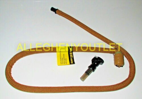 US Military USMC Source Replacement Tube Kit w shut off and Bite Valve Coyote