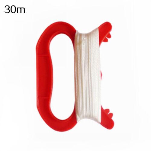 30//50//100m Kite Line String Winder Handle Outdoor Board Children Kite Supplies