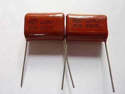 10pcs 400V 205 J 2uf 2000nf 2000000pf P20 CBB21 CBB metal film capacitor