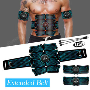 Smart-Abs-Stimulator-Abdominal-Muscle-Toning-8-Pads-Fitness-Trainer-EMS-Training