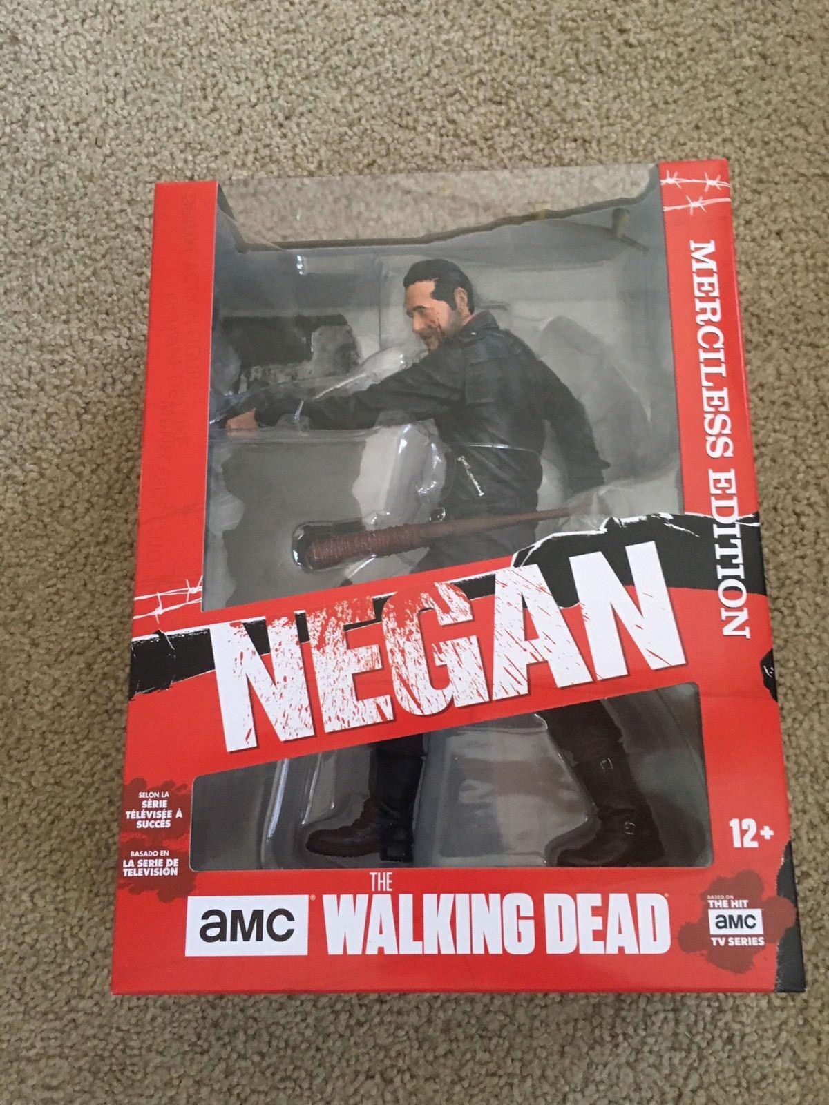 NEGAN  McFarlane Walking Dead TV DELUXE 10  Merciless Action Figure NEW