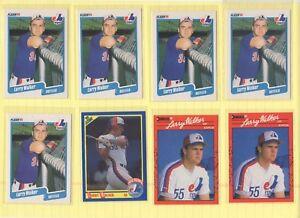 LARRY-WALKER-29-card-lot-Montreal-Expos-Colorado-Rockies