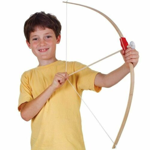 En bois traditionnelles Bow /& Arrow Set Robin Hood Garçons Jouet Cadeau De Noël UK