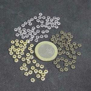500 Abalorios Daisy A Elegir Plata Tibetana/cobre/dorados Golden Beads Copper Bien Vendre Partout Dans Le Monde