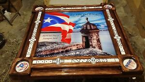 Remarkable Details About El Morro De Puerto Rico Personalized Domino Table By Domino Tables By Art Home Interior And Landscaping Ologienasavecom