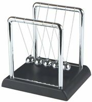 Perpetual Motion Toy Newtons Cradle Steel Balls Kinetic Physics Office Desk Top