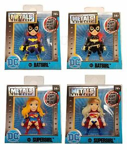 "JADA 84318 2.5/"" DC COMIC GIRLS METALS DIECAST ACTION FIGURE BATGIRL M382"