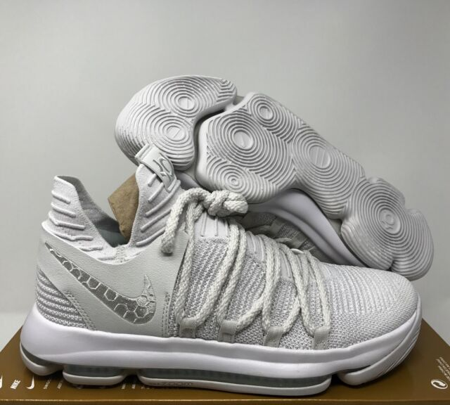 hot sale online 0836e 30b46 Nike Zoom KD X Kevin Durant KD10 Platinum Tint-Vast Grey SZ 11 [897815-009]