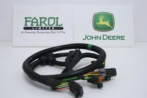 genuine john deere tractor wiring harness al207046 6115r 6125r 6130r rh ebay co uk john deere tractor engine parts john deere lawn tractor engine parts