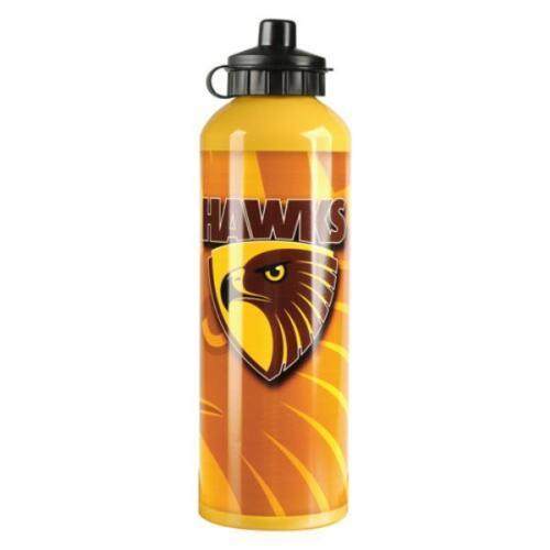 Hawthorn-Hawks-AFL-Footy-Aluminium-Drink-Bottle-750-ML-fast-shipping