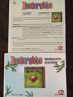 ZOOLORETTO CHRISTMAS GIFT Brettspiel NEW 2016 ADVENT Calendar Promo 8